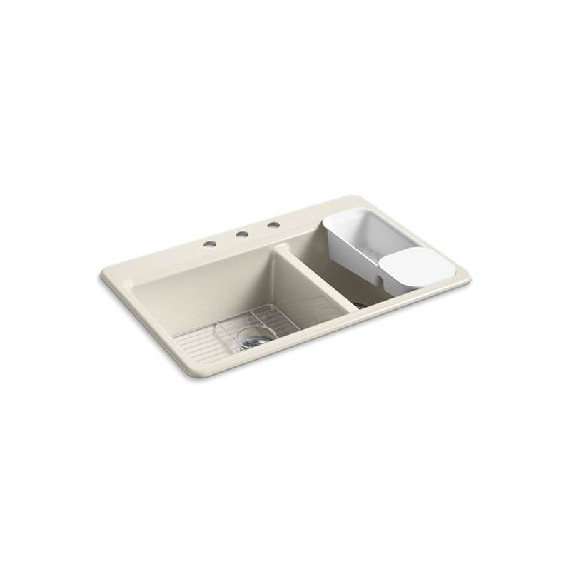 Kohler Drop In Kitchen Sinks item 8669-3A2-FD
