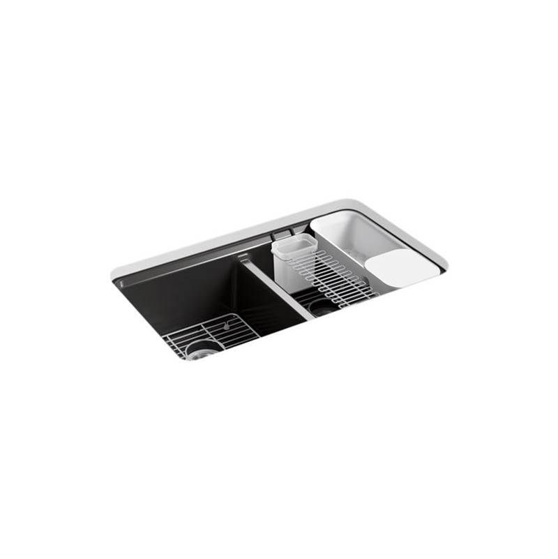 Kohler Undermount Kitchen Sinks item 8679-5UA3-7