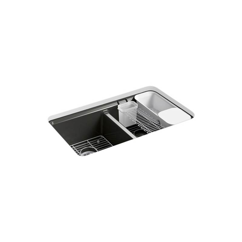 Kohler Undermount Kitchen Sinks item 8679-5UA3-FP