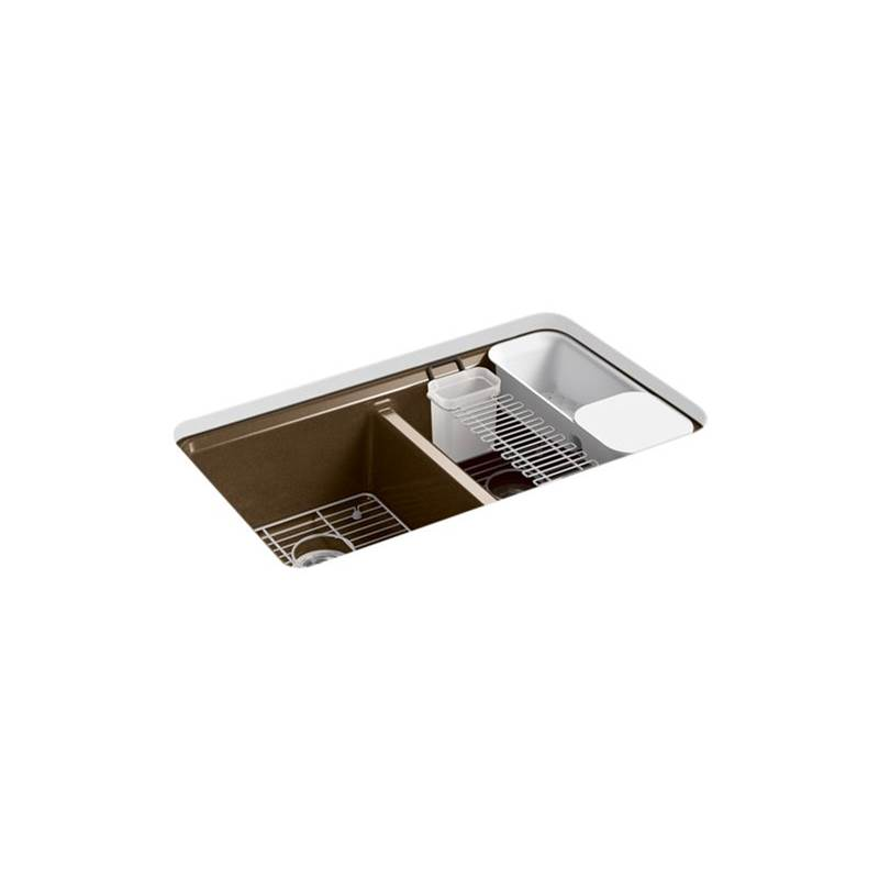 Kohler Undermount Kitchen Sinks item 8679-5UA3-KA