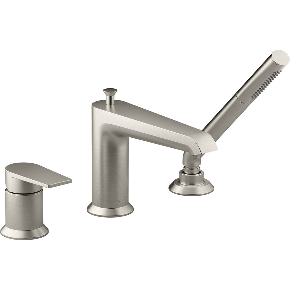 Kohler Deck Mount Roman Tub Faucets With Hand Showers item 97070-4-BN