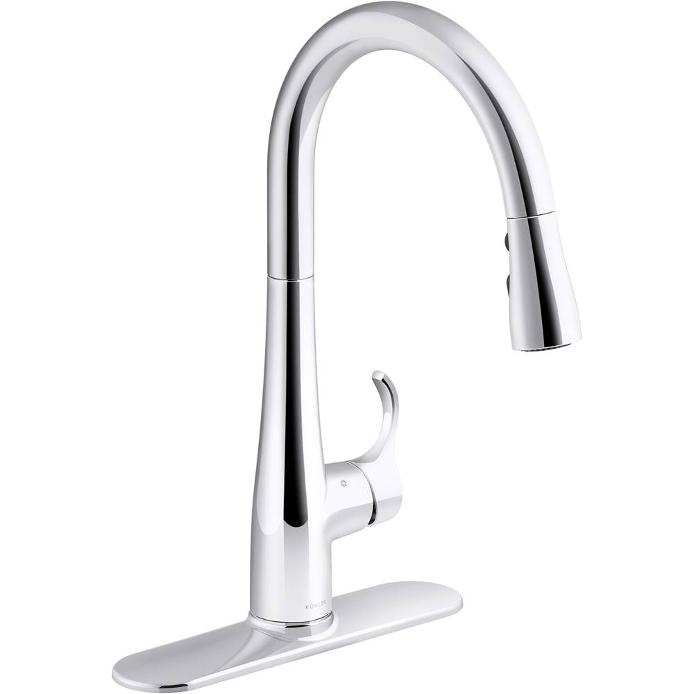 Kohler Pull Down Faucet Kitchen Faucets item 22036-CP