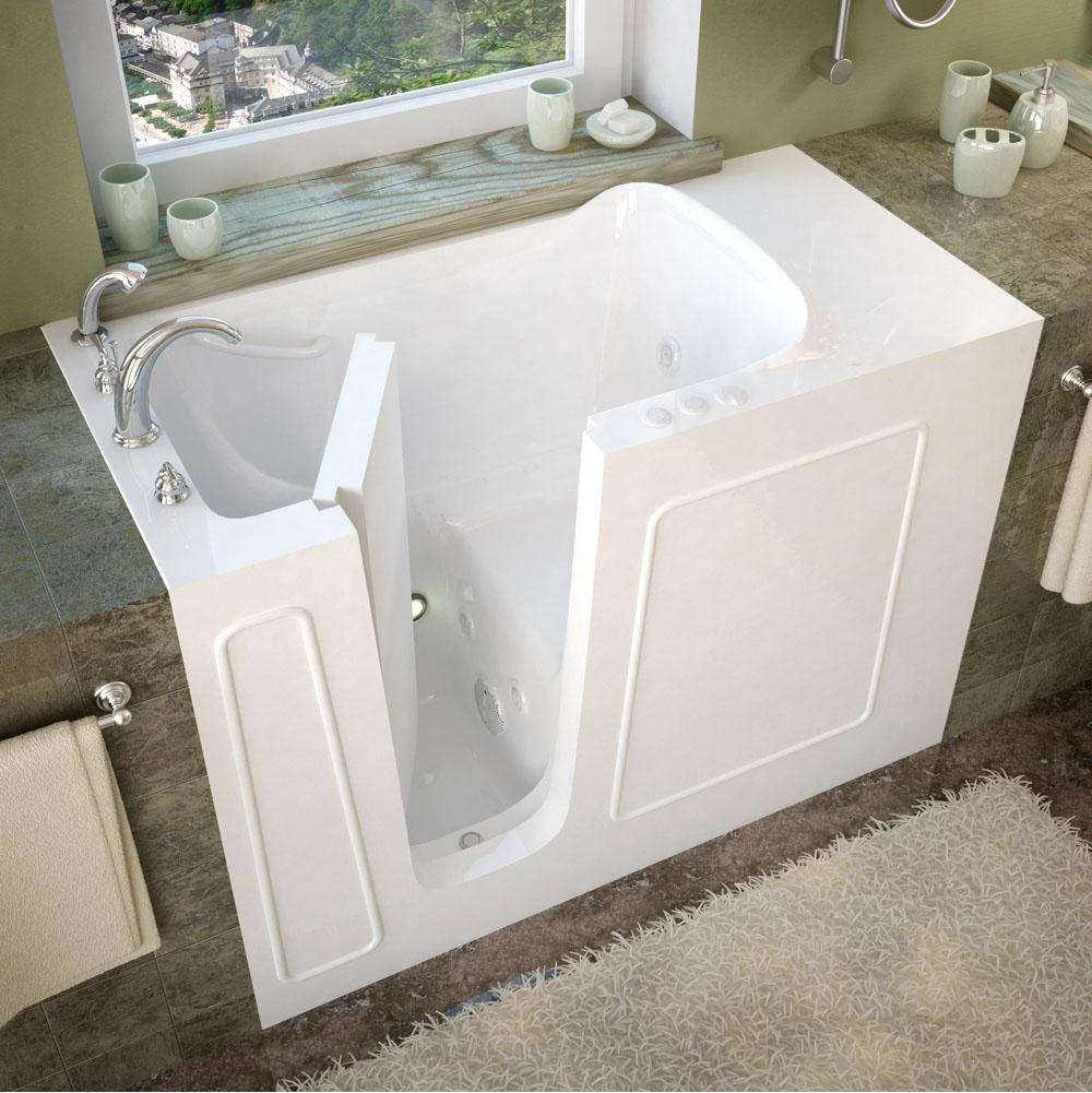 Meditub Walk In Whirlpool Bathtubs item 2653LWH