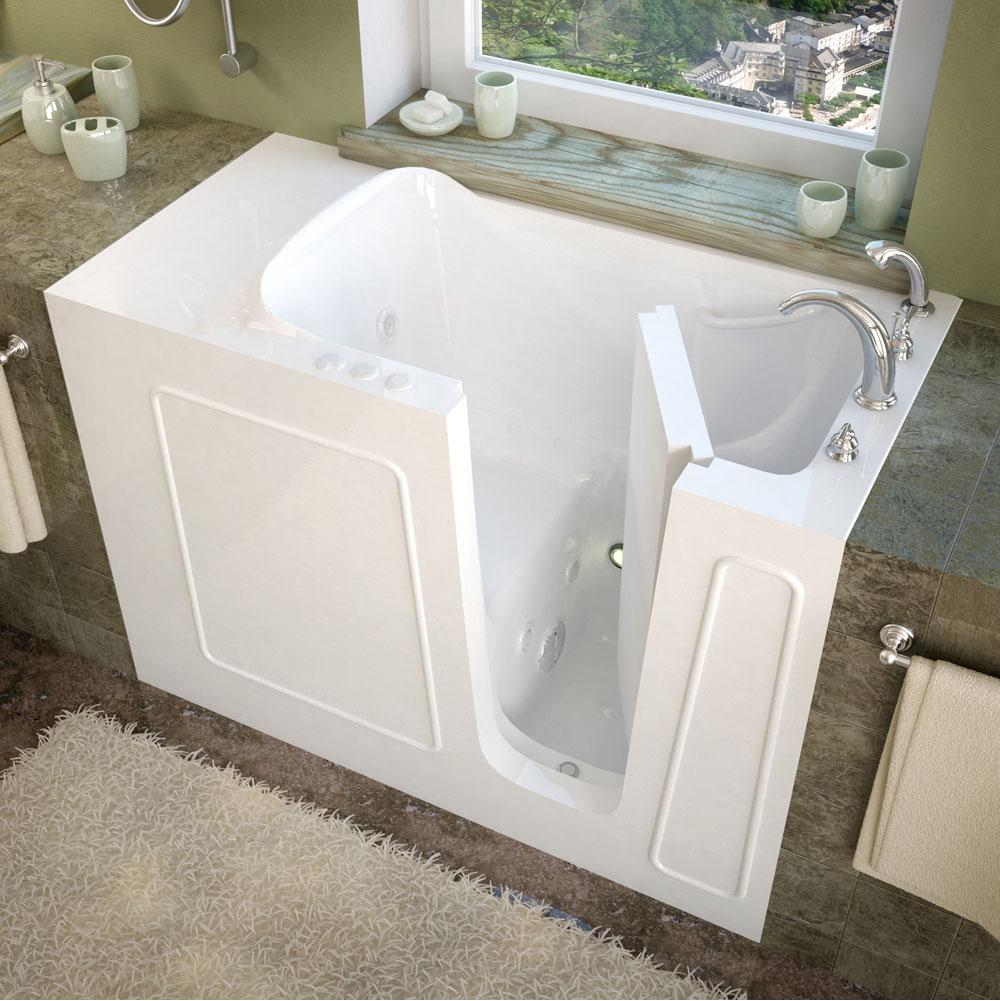 Meditub Walk In Whirlpool Bathtubs item 2653RWH