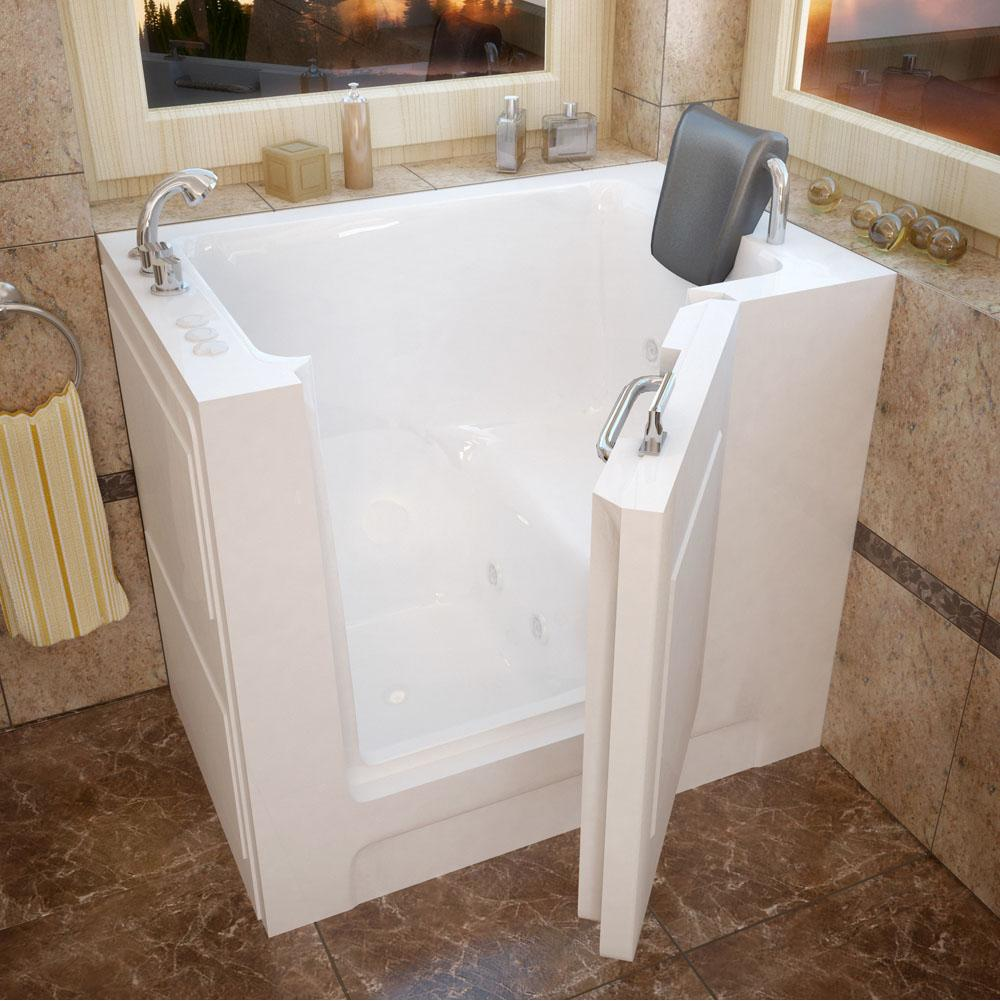 Meditub Walk In Whirlpool Bathtubs item 2739LWH