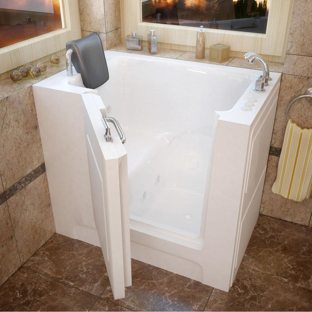 Meditub Walk In Whirlpool Bathtubs item 2739RWH