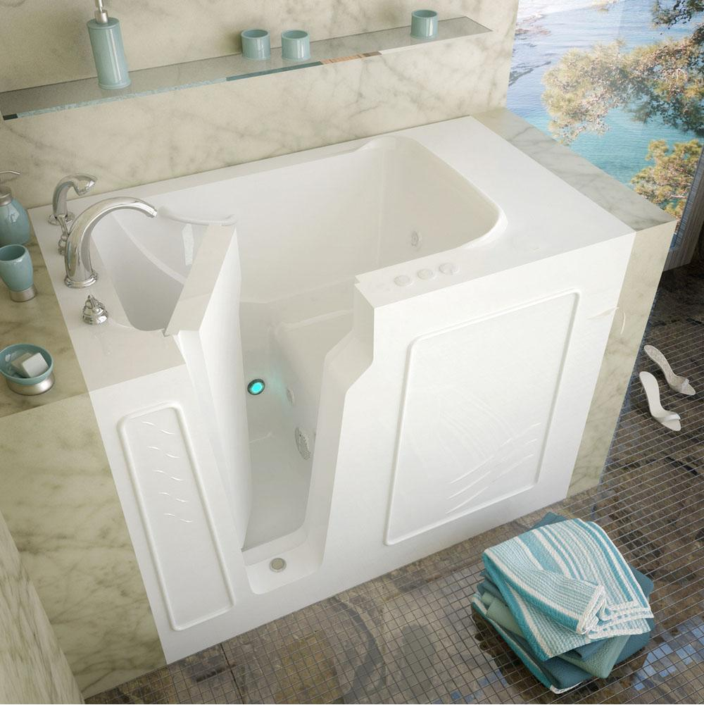 Meditub Walk In Whirlpool Bathtubs item 2952LWH