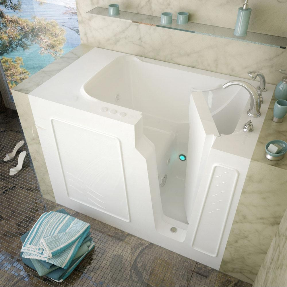 Meditub Walk In Whirlpool Bathtubs item 2952RWH