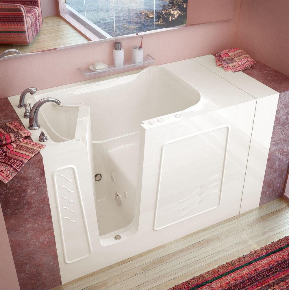 Meditub Walk In Whirlpool Bathtubs item 3053LBH