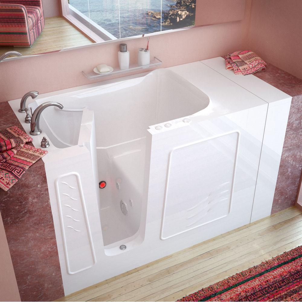 Meditub Walk In Whirlpool Bathtubs item 3053LWH