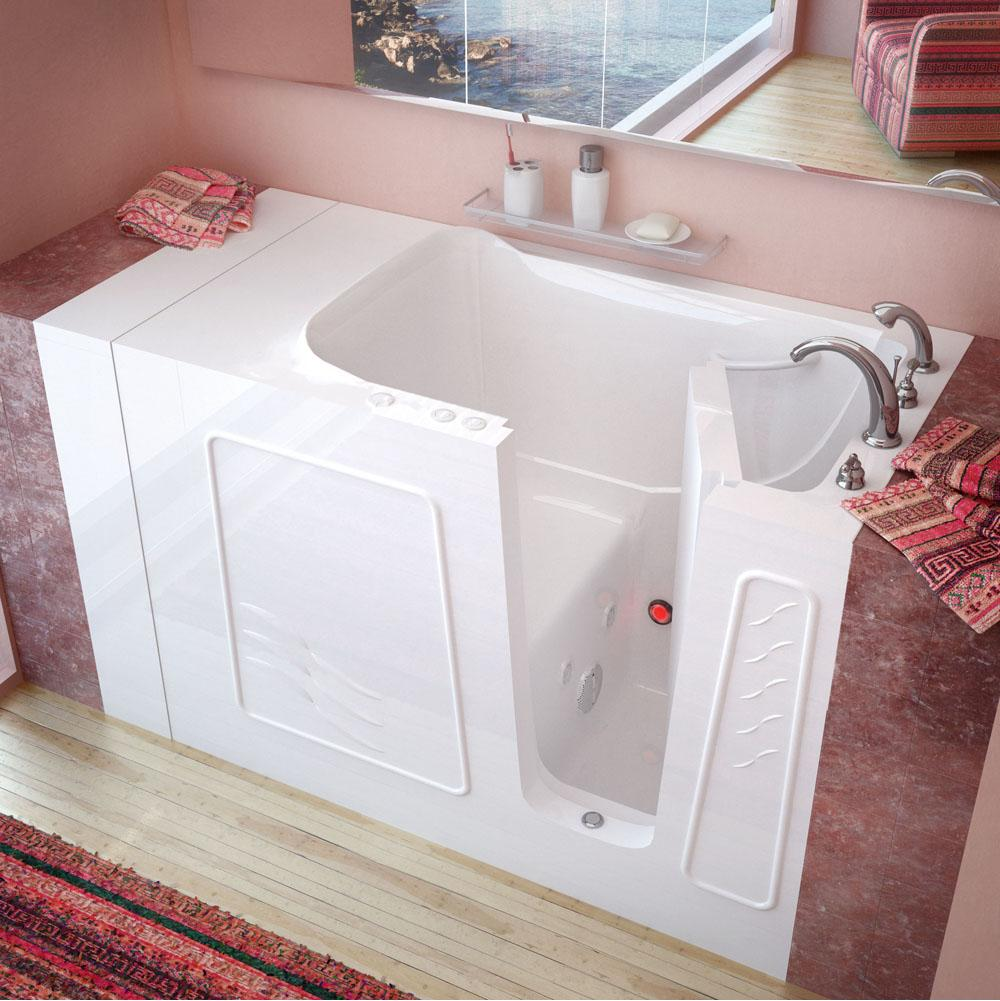 Meditub Walk In Whirlpool Bathtubs item 3053RWH