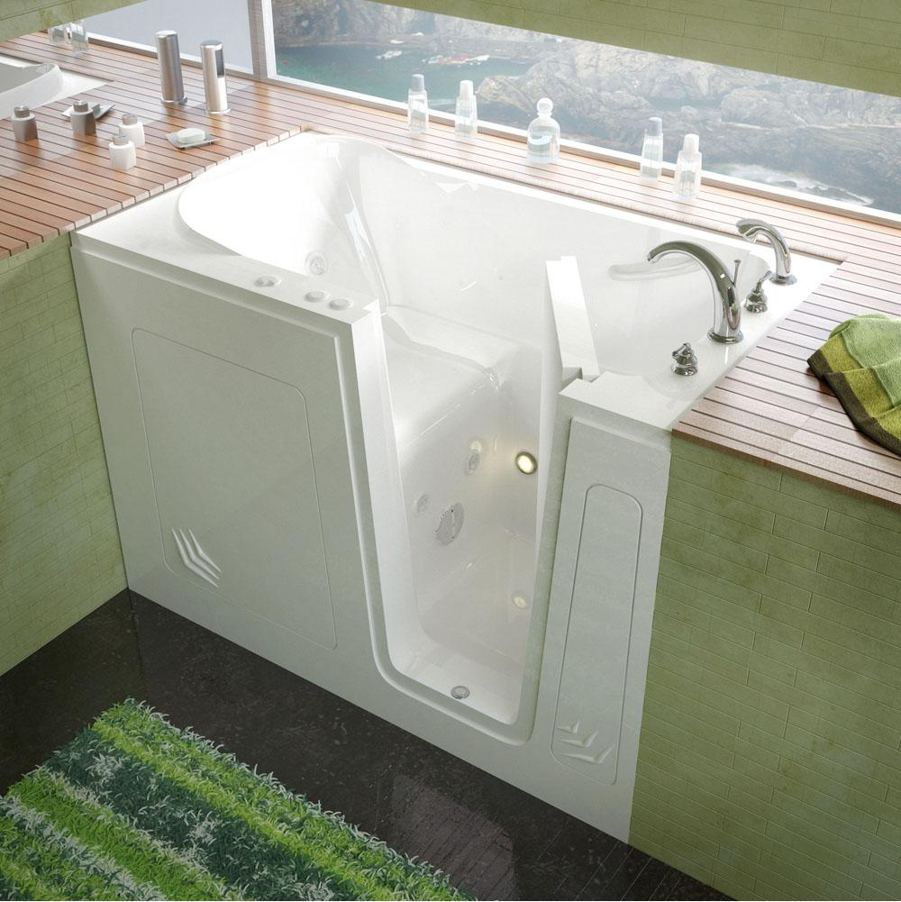 Meditub Walk In Whirlpool Bathtubs item 3054RWH