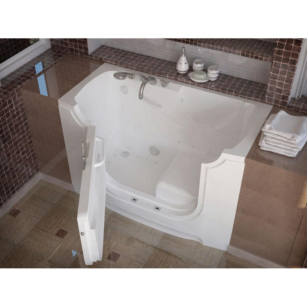 Meditub Walk In Air Bathtubs item 3060WCALWA