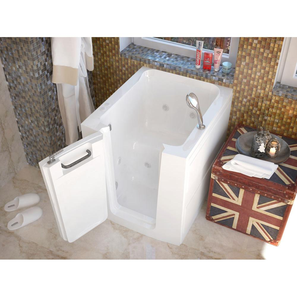 Meditub Walk In Whirlpool Bathtubs item 3238LWH