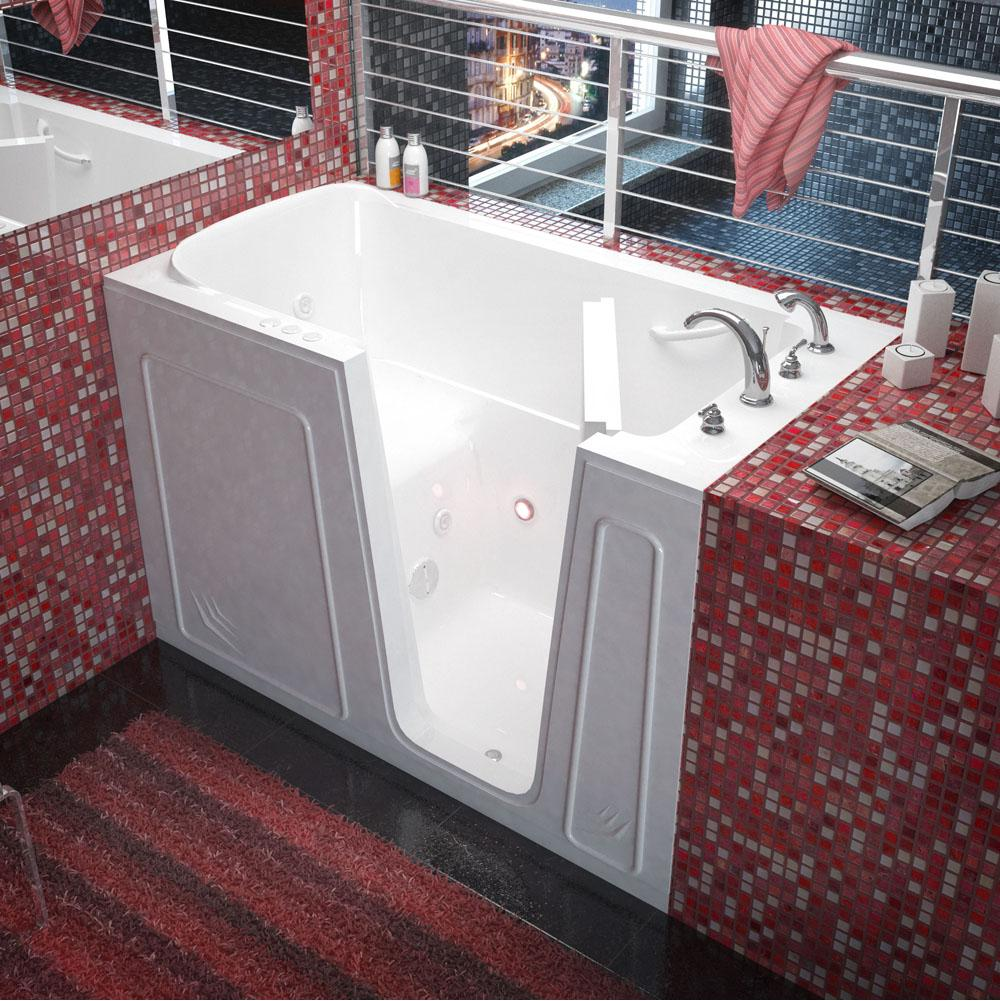 Meditub Walk In Whirlpool Bathtubs item 3260RWH