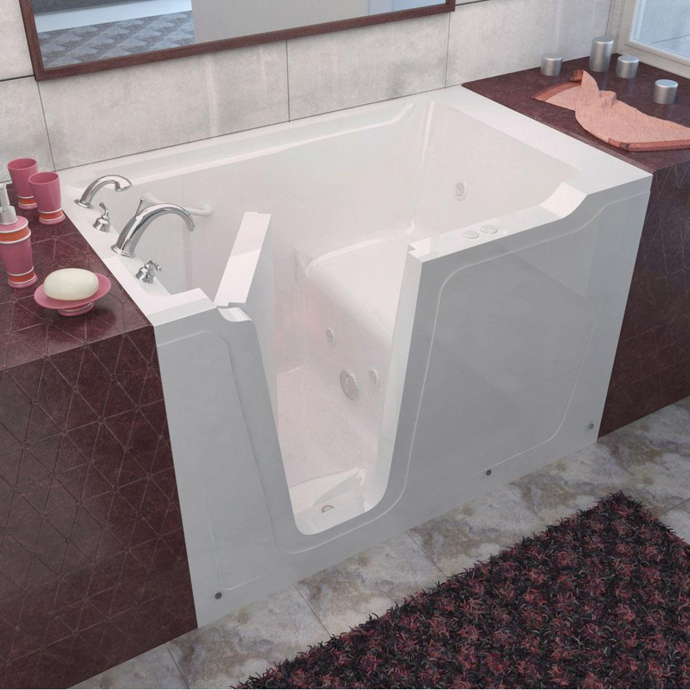 Meditub Walk In Whirlpool Bathtubs item 3660LWH