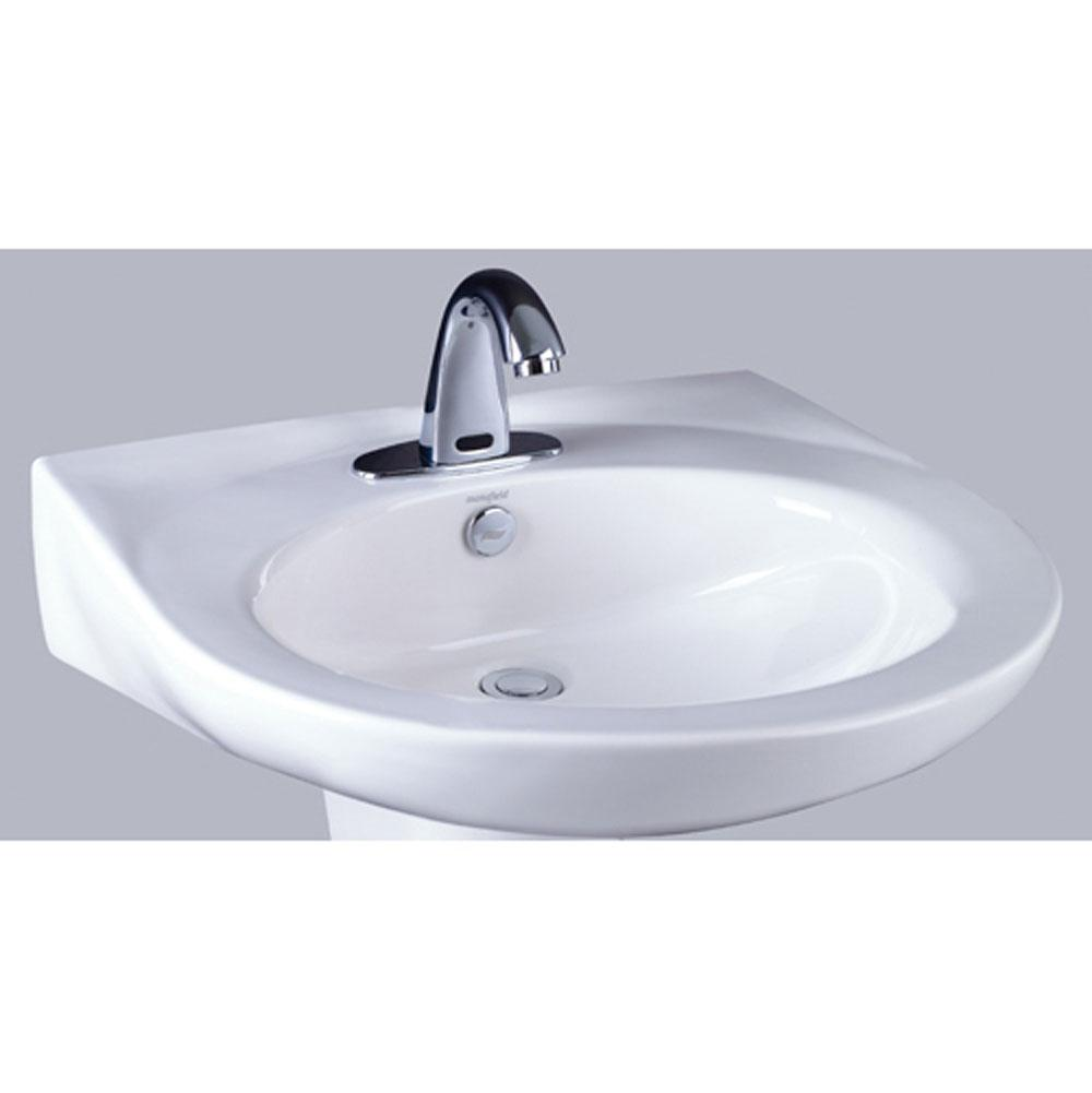 Mansfield Plumbing Vessel Only Pedestal Bathroom Sinks item 203880000