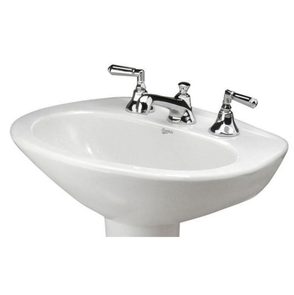 Mansfield Plumbing Vessel Only Pedestal Bathroom Sinks item 272414370