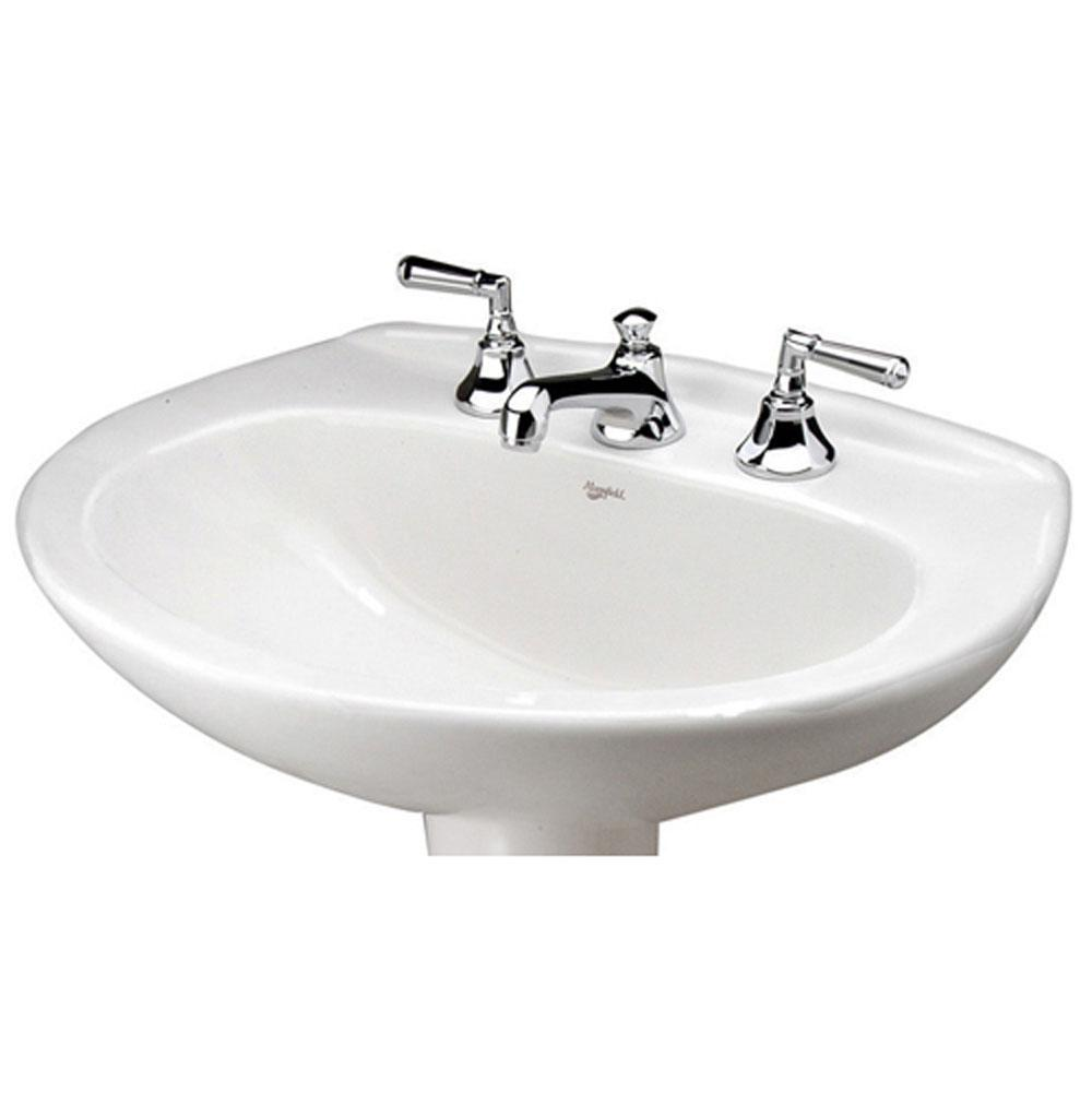 Mansfield Plumbing Vessel Only Pedestal Bathroom Sinks item 290414370