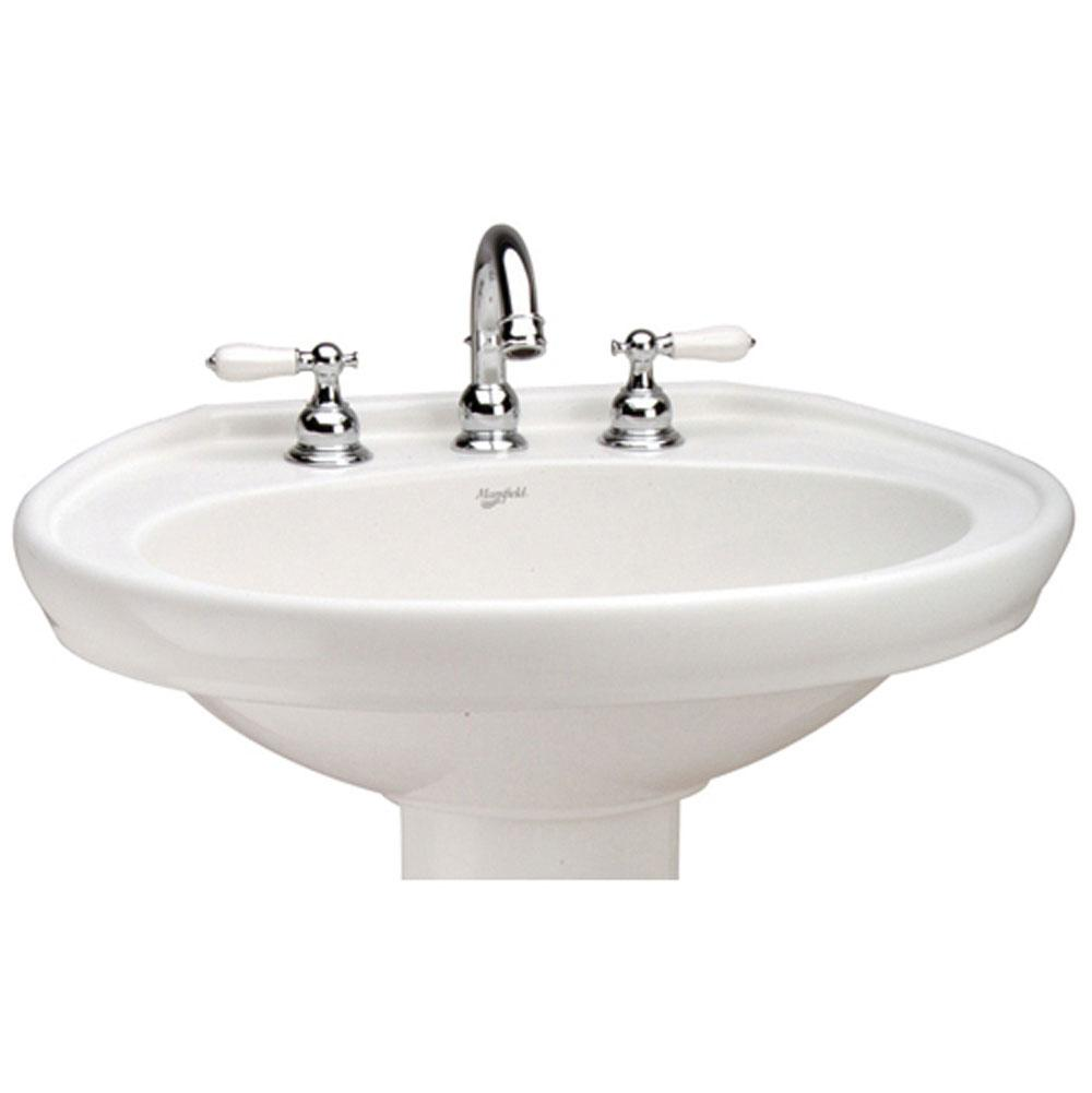 Mansfield Plumbing Vessel Only Pedestal Bathroom Sinks item 338104300