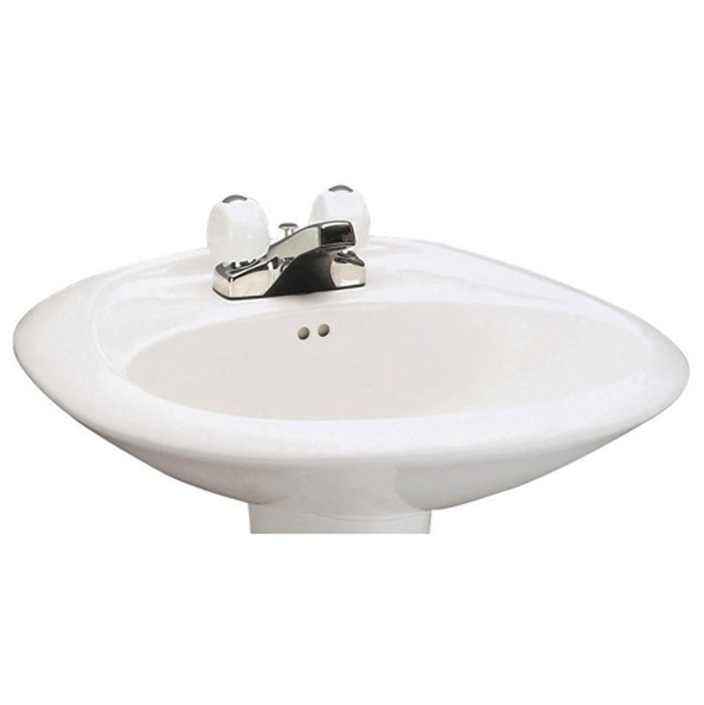 Mansfield Plumbing Vessel Only Pedestal Bathroom Sinks item 348410040