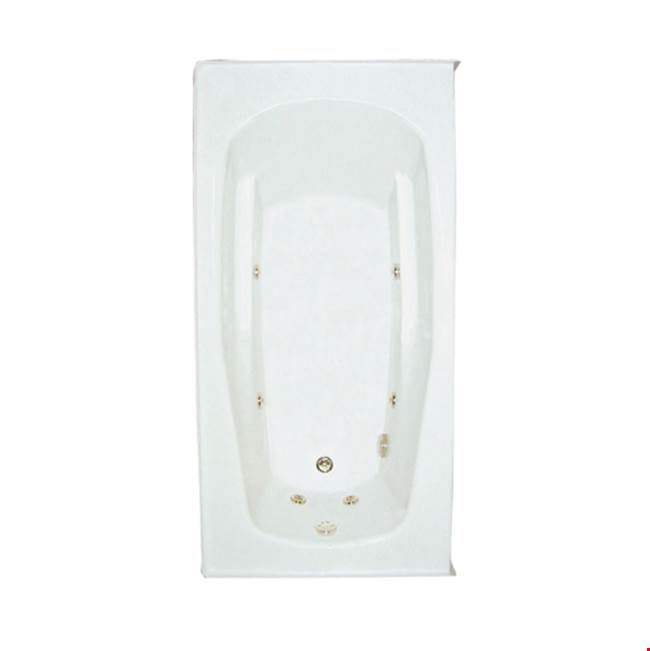 Mansfield Plumbing Drop In Whirlpool Bathtubs item 6122