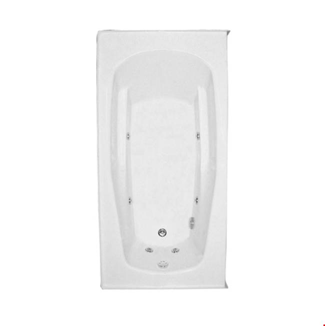 Mansfield Plumbing Drop In Whirlpool Bathtubs item 6123