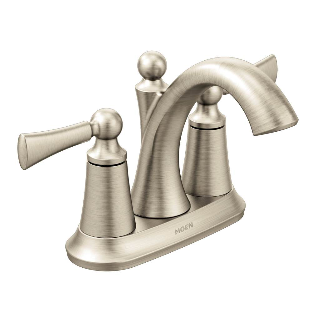 Moen Centerset Bathroom Sink Faucets item 4505BN