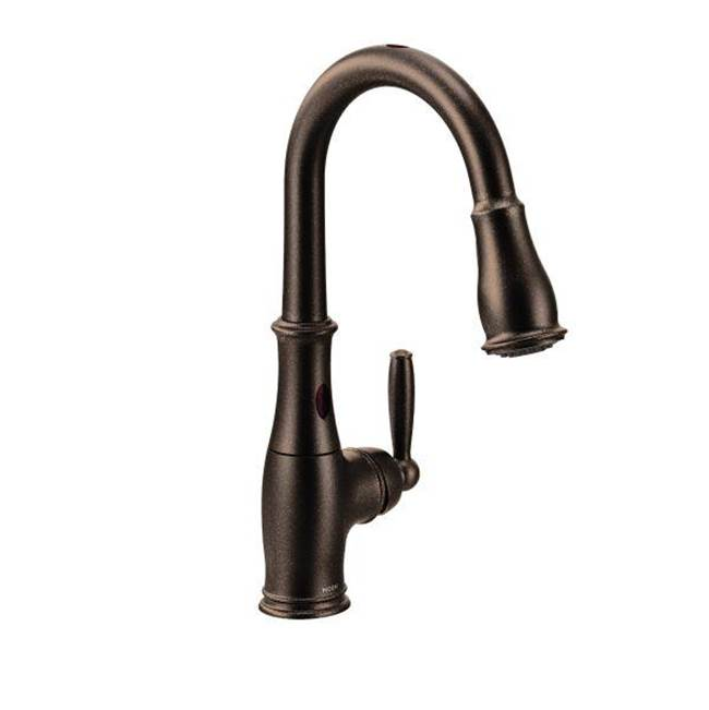 Moen Single Hole Kitchen Faucets item 7185EORB