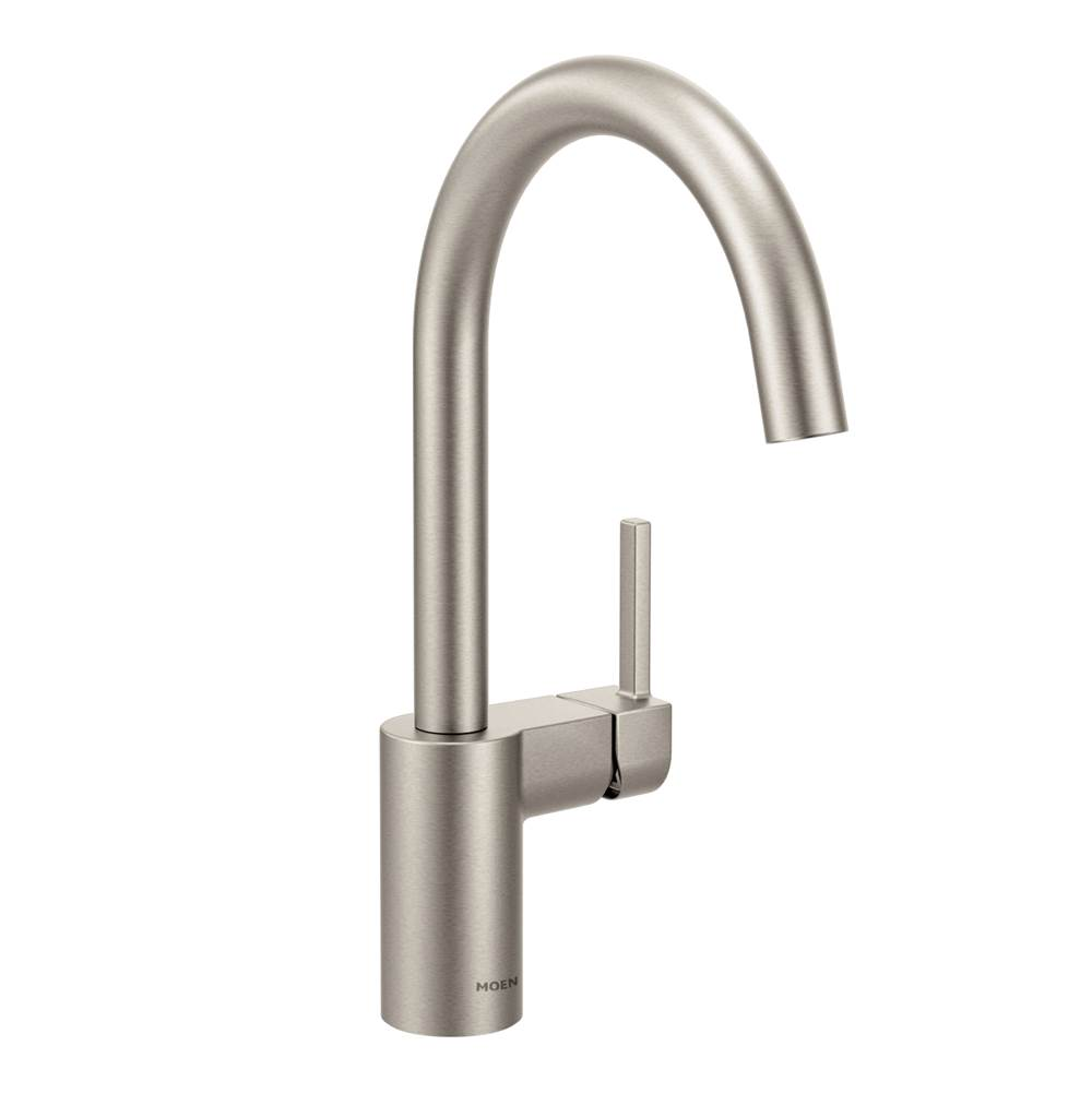 Moen Single Hole Kitchen Faucets item 7365SRS
