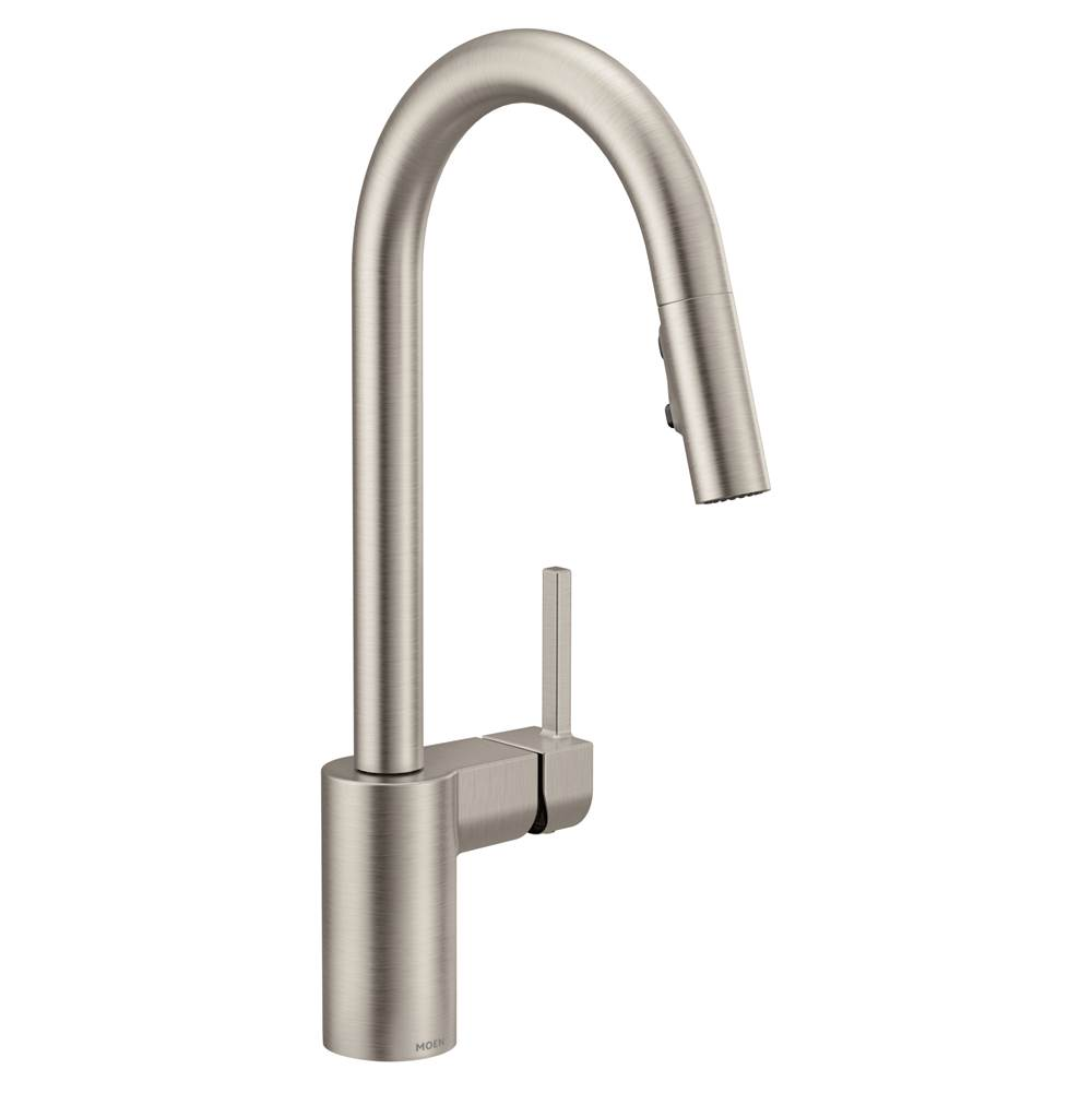 Moen Single Hole Kitchen Faucets item 7565SRS
