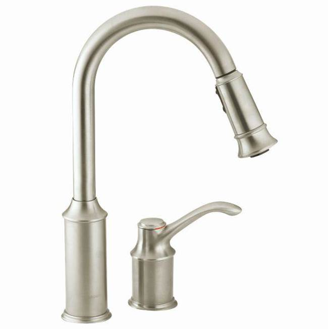 Moen Retractable Faucets Kitchen Faucets item 7590CSL