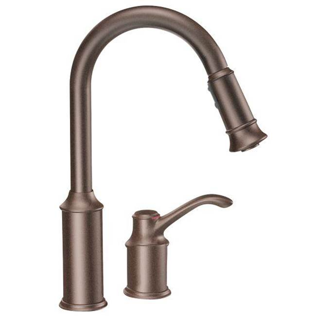 Moen Single Hole Kitchen Faucets item 7590ORB