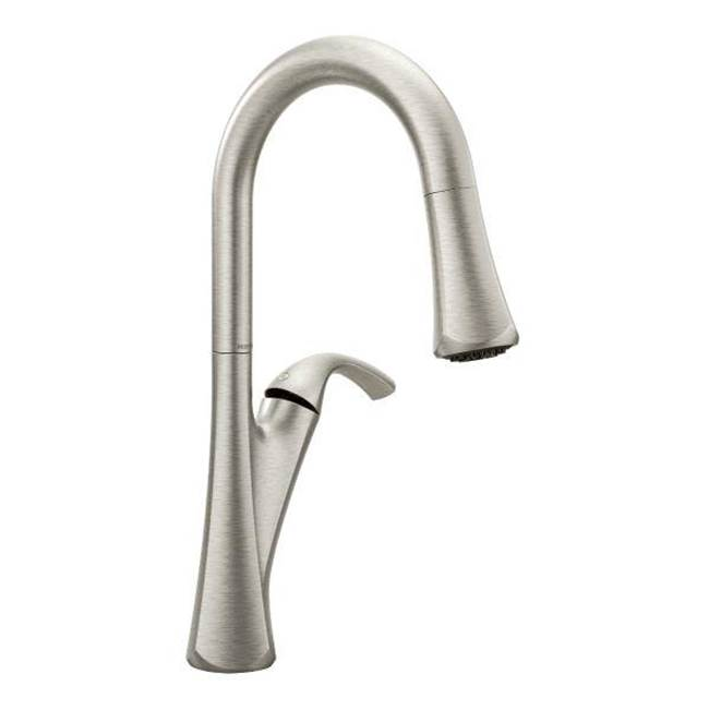Moen Single Hole Kitchen Faucets item 9124SRS