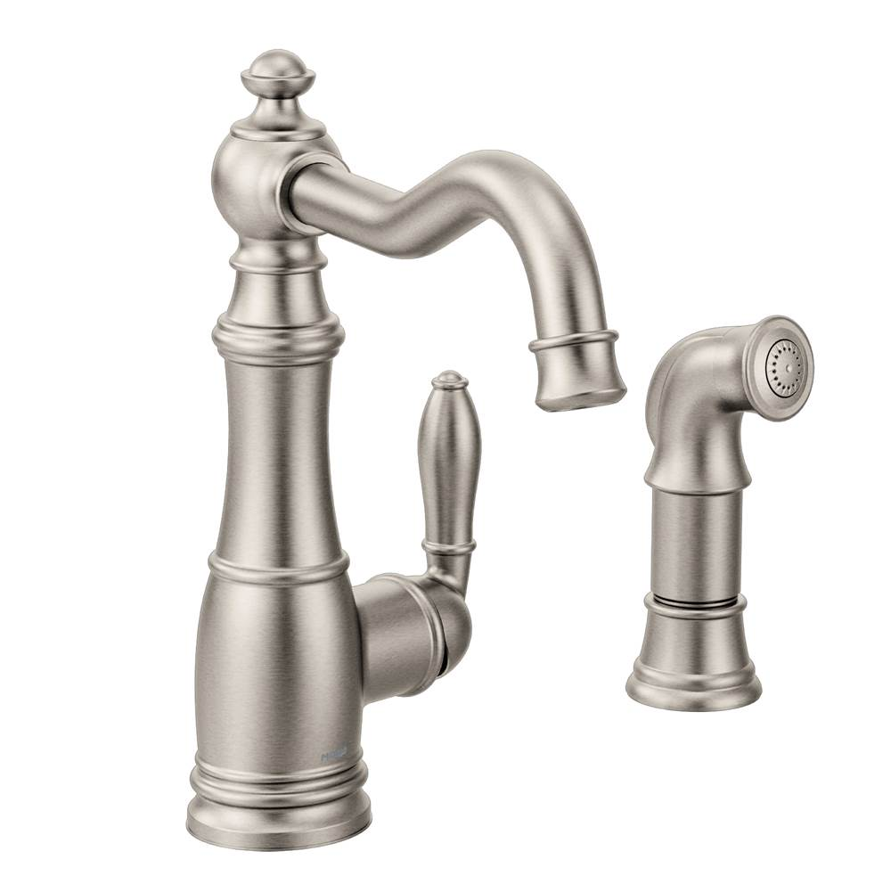 Moen Deck Mount Kitchen Faucets item S72101SRS