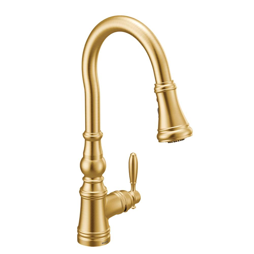 Moen Pull Down Faucet Kitchen Faucets item S73004BG
