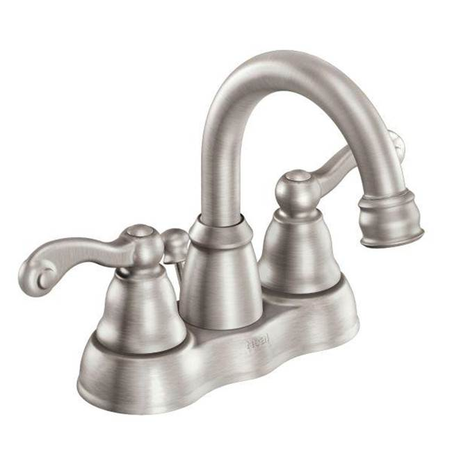 Moen Centerset Bathroom Sink Faucets item WS84003SRN