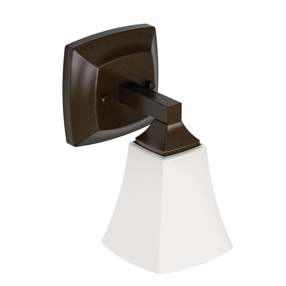 Moen One Light Vanity Bathroom Lights item YB5161ORB