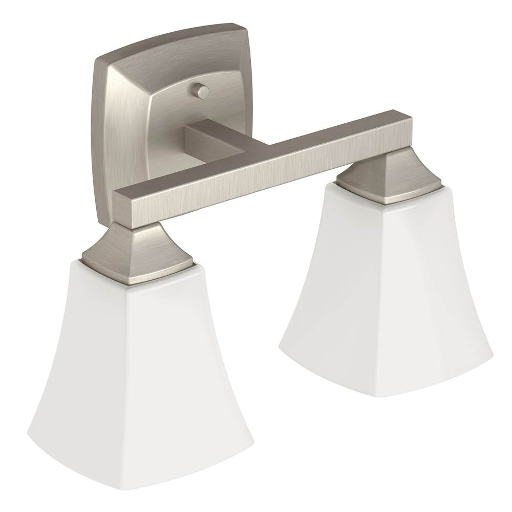 Moen Two Light Vanity Bathroom Lights item YB5162BN