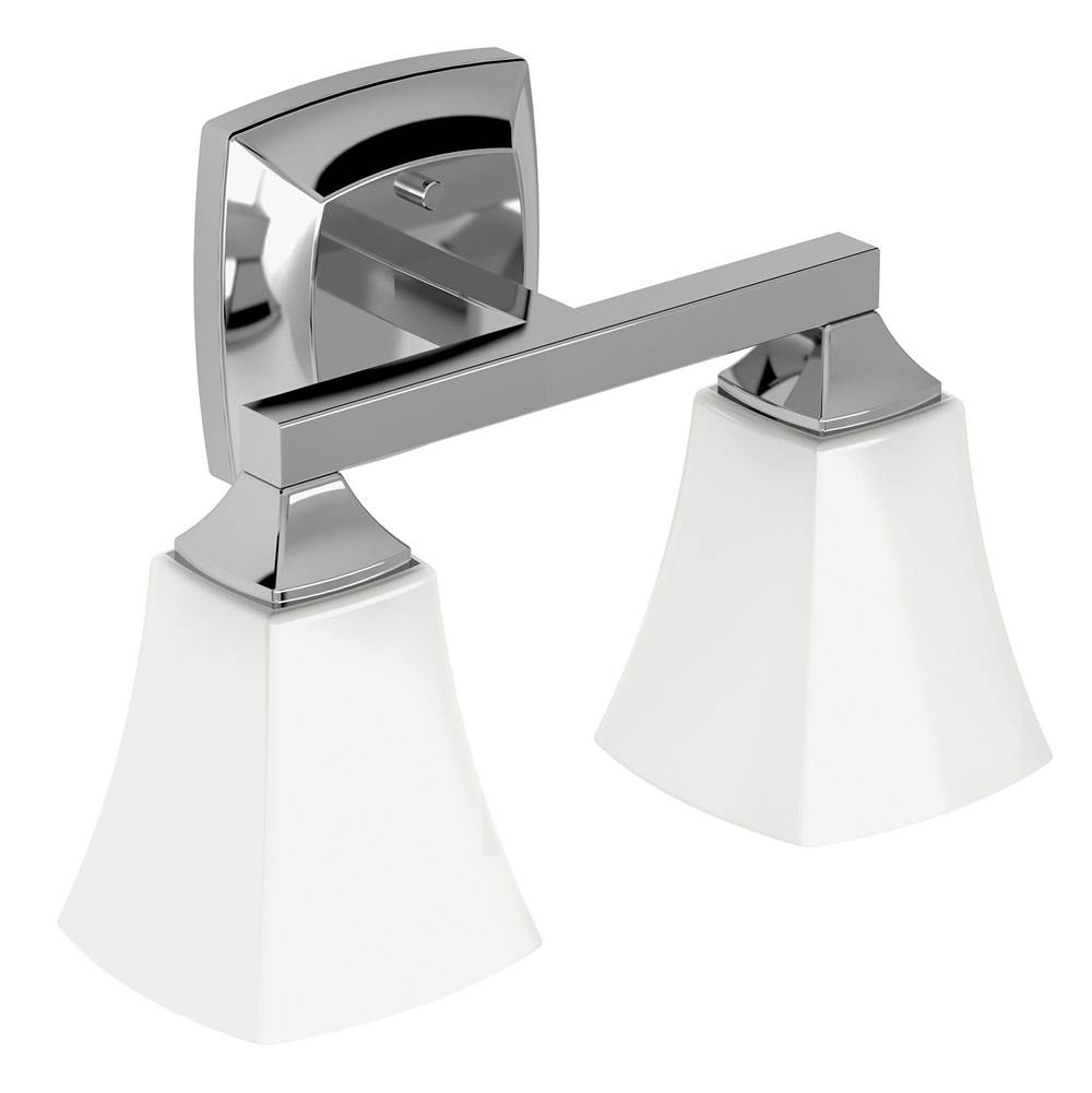 Moen Two Light Vanity Bathroom Lights item YB5162CH