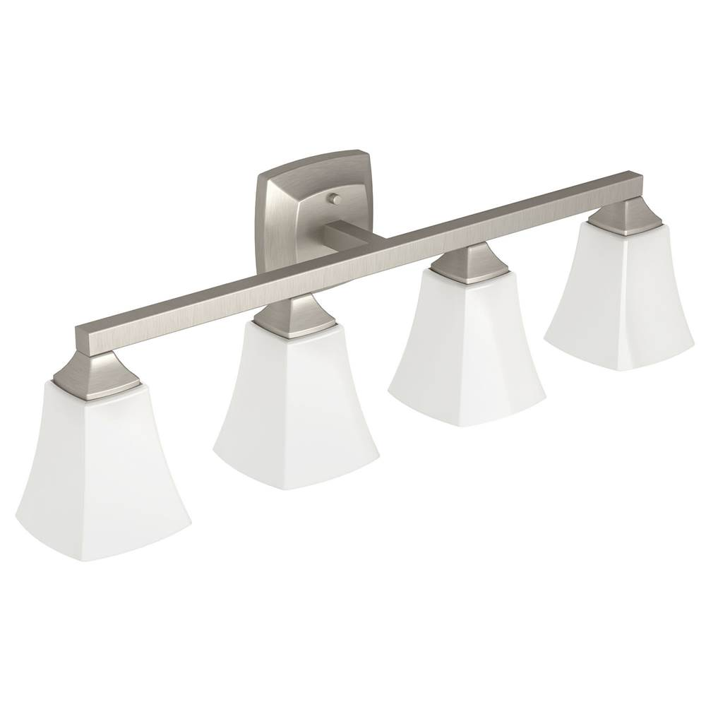 Moen Four Light Vanity Bathroom Lights item YB5164BN