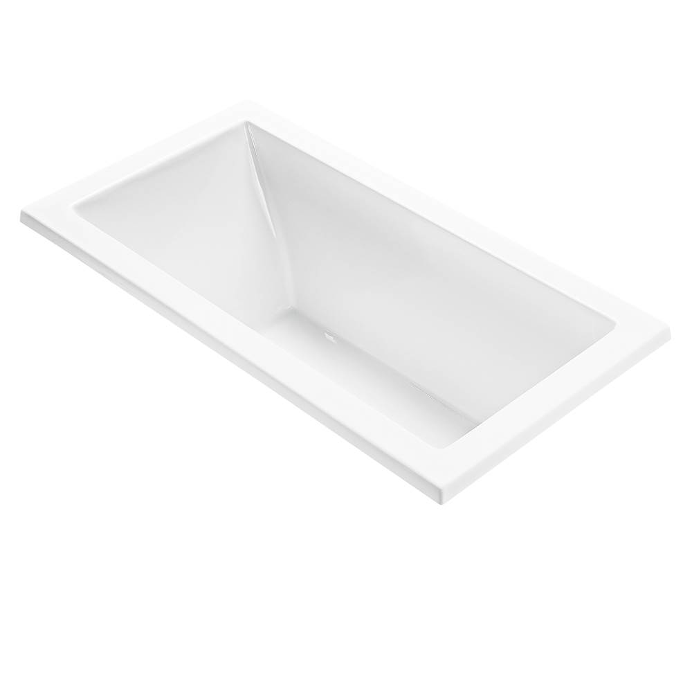 MTI Baths Undermount Air Bathtubs item AE107-WH-UM