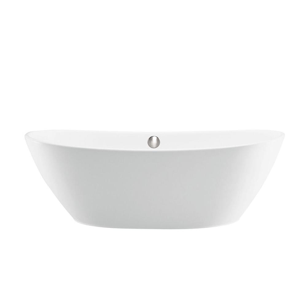 MTI Baths Free Standing Soaking Tubs item S116-WH-GL
