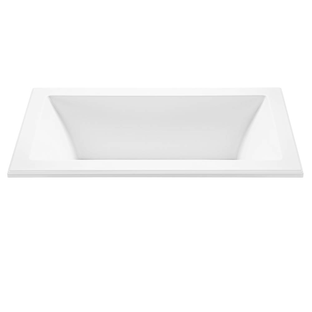 MTI Baths Drop In Air Bathtubs item AST135-WH-DI