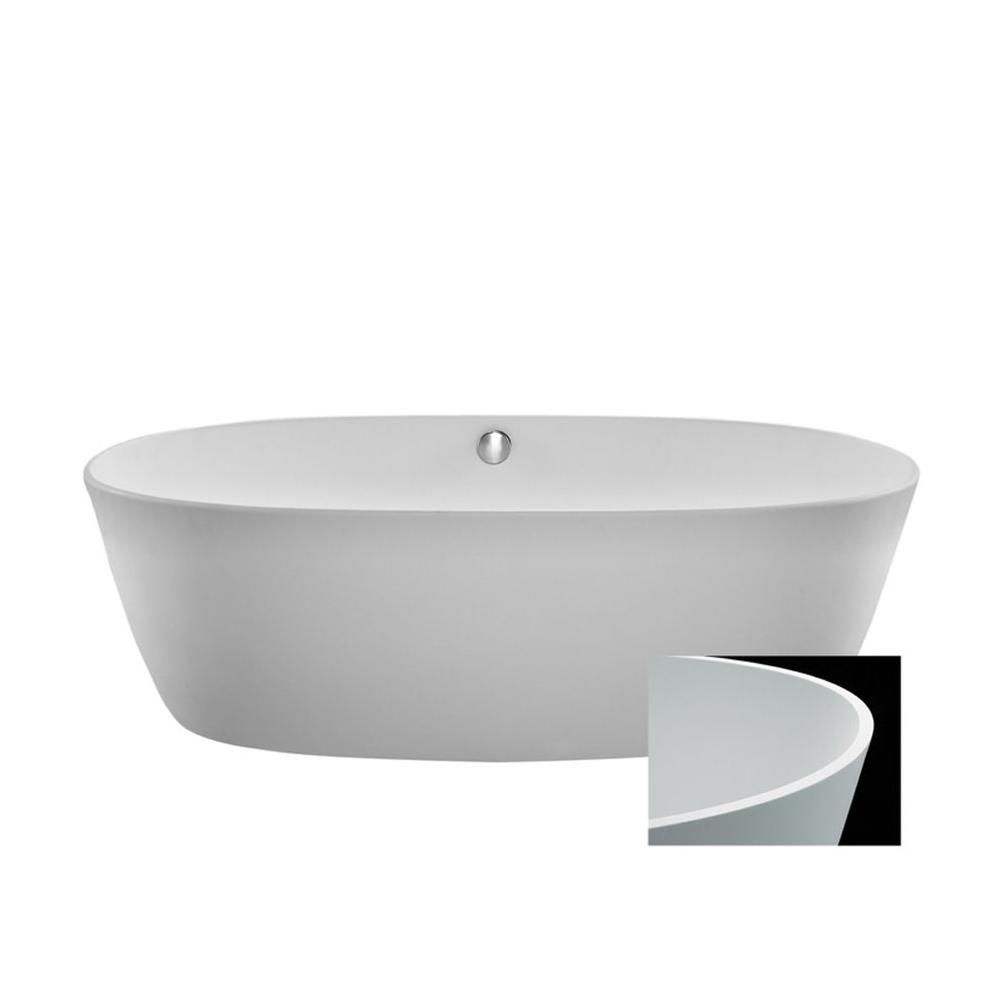 MTI Baths Free Standing Soaking Tubs item S141+BASEWHGL