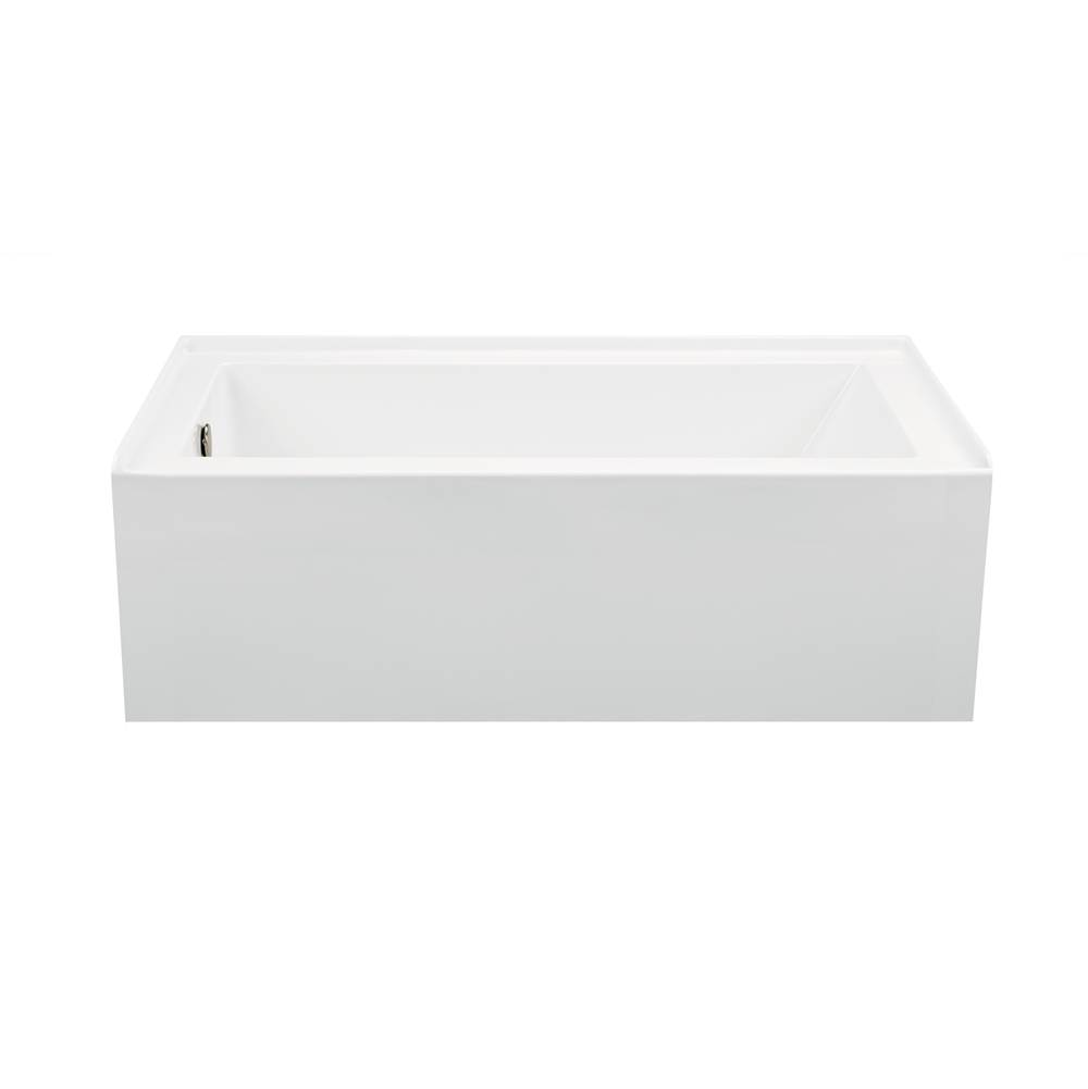 MTI Baths Three Wall Alcove Whirlpool Bathtubs item P151-WH-RH
