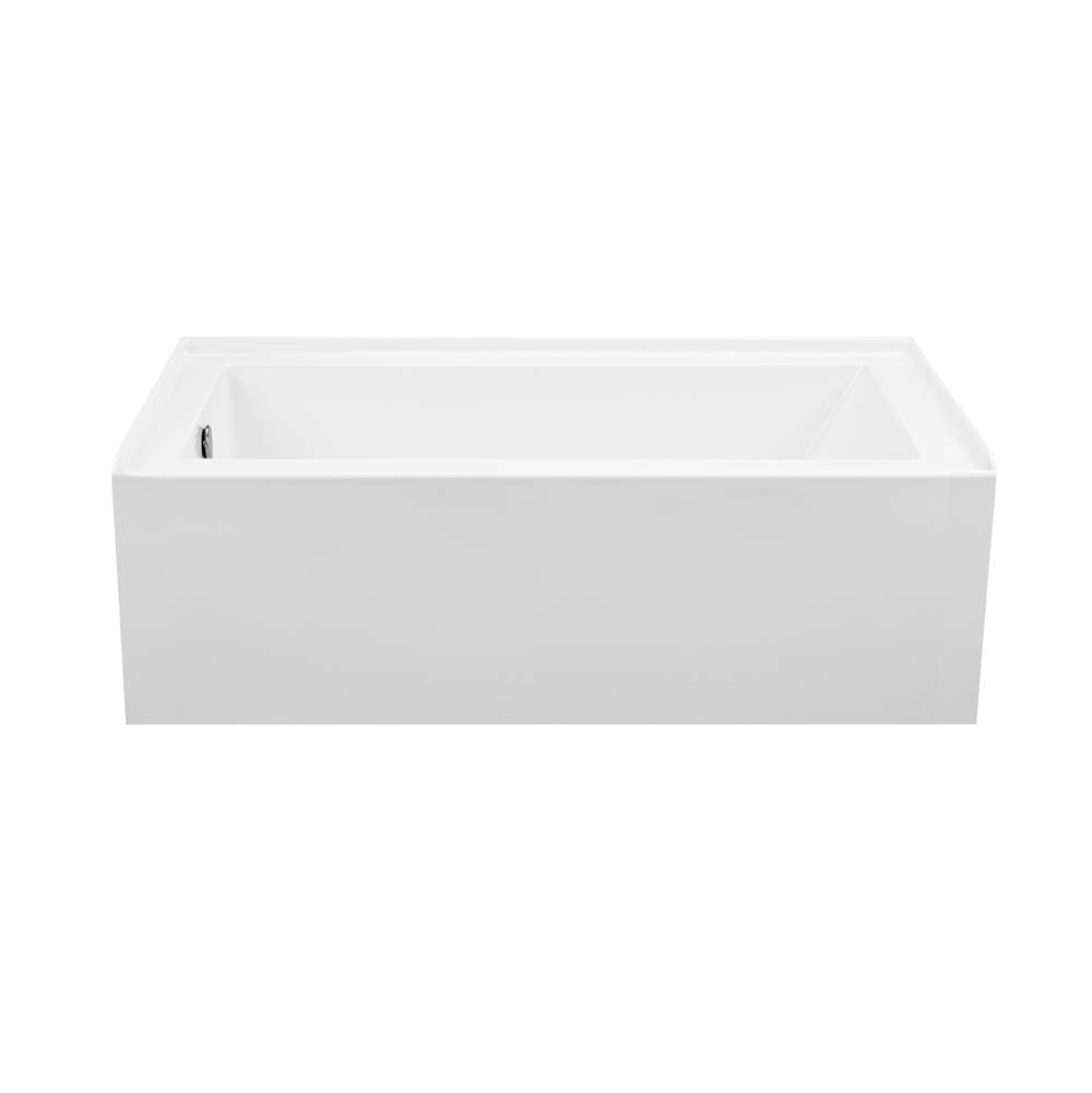 MTI Baths Three Wall Alcove Air Whirlpool Combo item AW153-WH-LH
