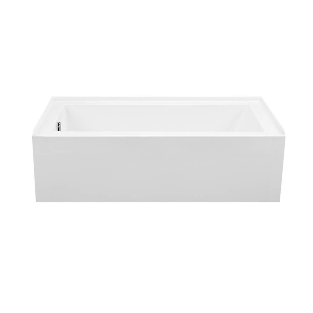 MTI Baths Three Wall Alcove Whirlpool Bathtubs item P154-BI-LH