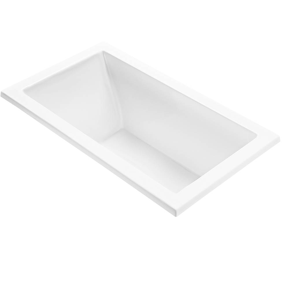MTI Baths Undermount Whirlpool Bathtubs item P187-WH-UM