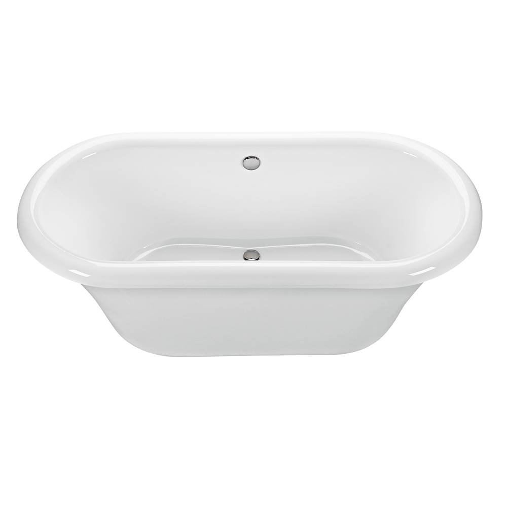 MTI Baths Free Standing Soaking Tubs item S74+BASE74-WH